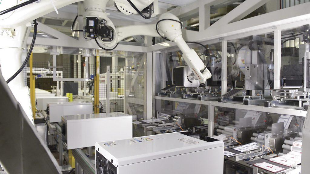 رباتهای کارخانه آریستون